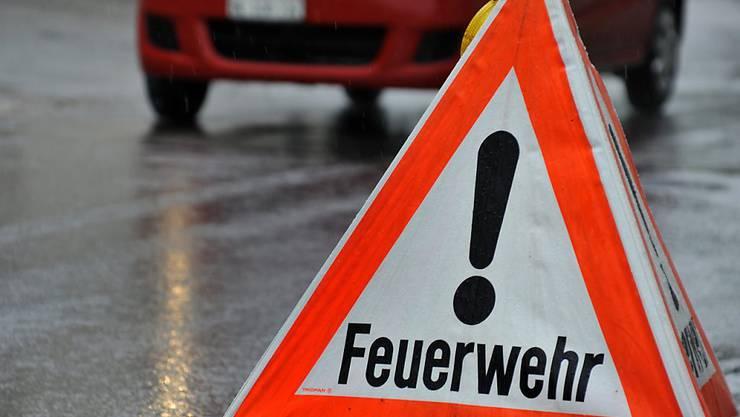 Das Feuer in der Luzerner Scheune an der Hauptstrasse zwischen Hildisrieden und Hochdorf brach laut Feuerwehr gegen 3 Uhr in der Früh aus. (Symbolbild)