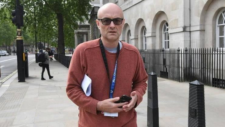 Dominic Cummings, Berater des britischen Premiers Boris Johnson, steht unter Beschuss, weil er die Lockdown-Regeln der Regierung nicht eingehalten haben soll. (Archiv)