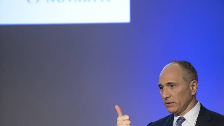 Daumen hoch! Bei Novartis läuft es im Moment ausgezeichnet. Im Bild: CEO Joe Jimenez.