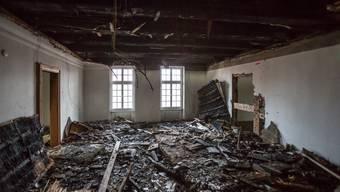 Feuer zerstört in Seon Festsaal aus dem 17. Jahrhundert