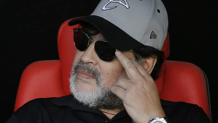 Kämpft mit verschiedenen gesundheitlichen Problemen: der einstige Filigrantechniker und Dribbelkünstler Diego Maradona