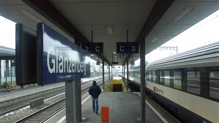 Der Bahnhof Glanzenberg in Dietikon.