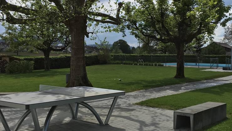 Verschönert und herausgeputzt: Im Schwimmbad Full-Reuenthal finden verschiedene Events statt.