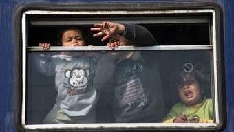 Eine erste Gruppe Flüchtlinge soll schon bald in der Schweiz eintreffen.