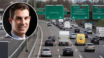 Will ausländische Autobahnbenützer teurer zur Kasse bitten: FDP-Nationalrat Thierry Burkart.