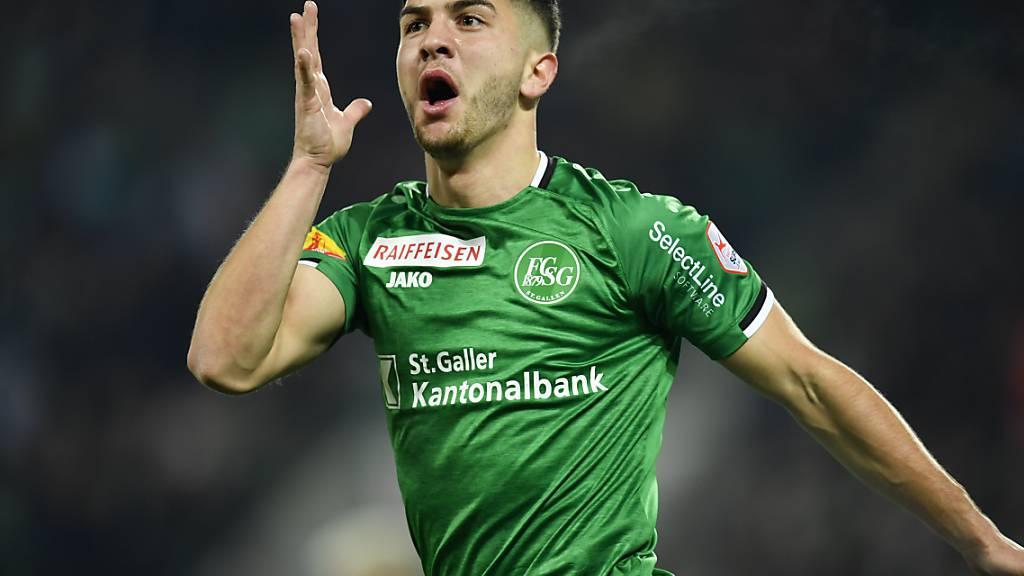 Ist mit seinen sieben Toren und zwei Vorlagen massgeblich am Höhenflug des FC St. Gallen beteiligt: Boris Babic