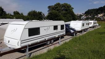 Eine Gruppe von Roma hat sich vorübergehend in Nürensdorf niedergelassen (Symbol).