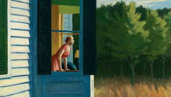 Edward Hoppers Bild «Morgen in Cape Cod» (1950) zeigt vor allem eines: ganz viel Leere. Edward Hopper in der Fondation Beyeler.