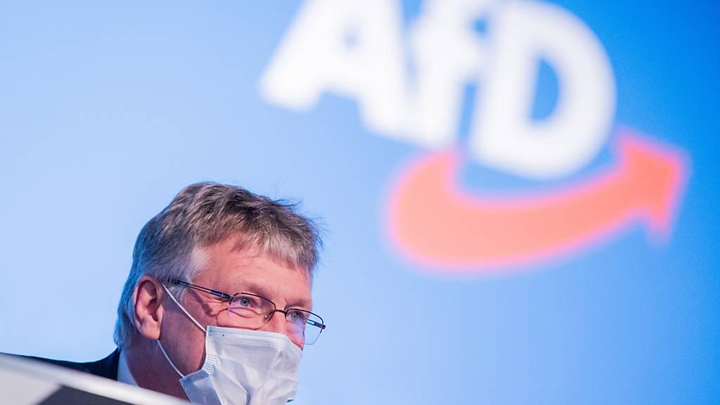 Deutscher AfD-Chef fordert seine Partei zu mehr Disziplin auf