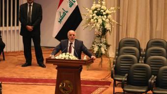 Neue Regierung und mehr Bedenkzeit: Iraks Premier Haider al-Abadi