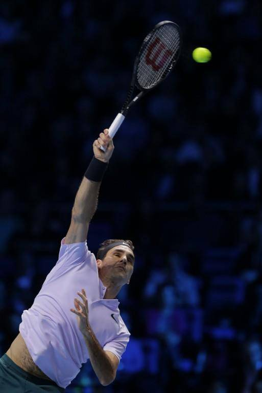Federer an ATP Finals in London (© Keystone)