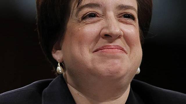 Elena Kagan ist die Oberste Richterin