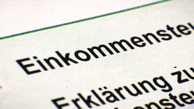 Steuerwütig: Deutschland treibt Rekordsumme ein (Symbolbild)