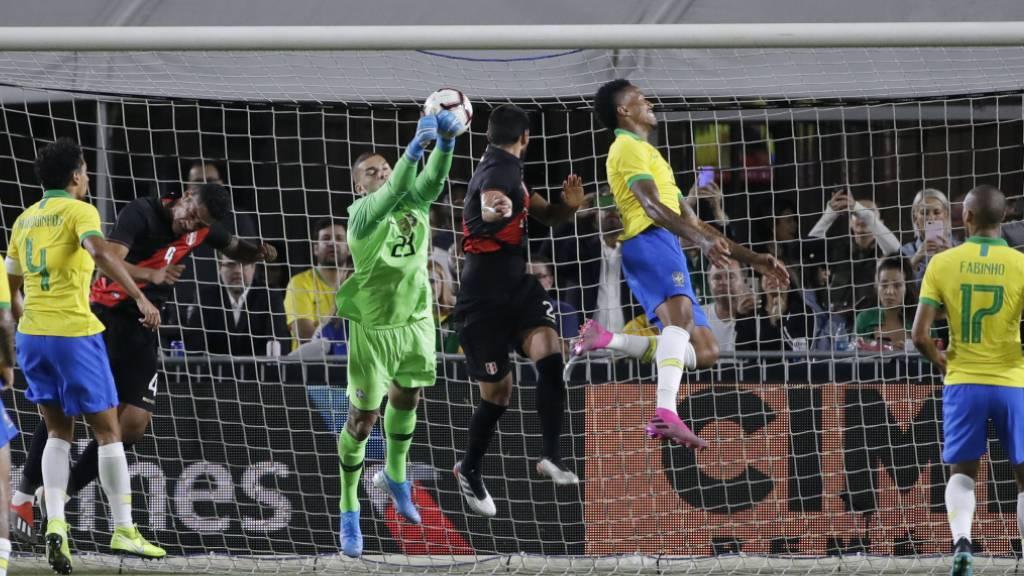 Peru gelingt Revanche gegen Brasilien