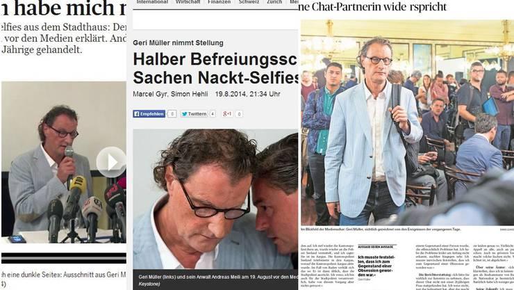 Geri Müller in den Medien.