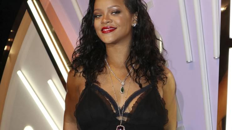 Sie war beim Einbruch in ihre Villa in Kalifornien nicht zu Hause: R&B-Sängerin Rihanna. (Archivbild)