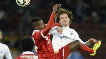 Cuphalbfinal zwischen dem FC Zürich und dem FC Sion