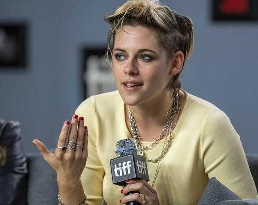 Kristen Stewart stellt ihren Film «Seberg» vor.