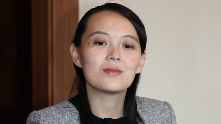 Wusste schon Chinas Präsidenten Xi Jinping zu beeindrucken: Kim Jong Uns Schwester Kim Yo Jong.