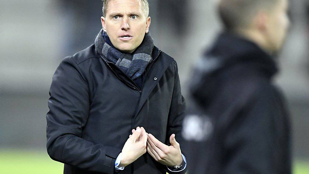 Trainer Marc Schneider arbaitet mit dem FC Thun ohne Nebengeräusche