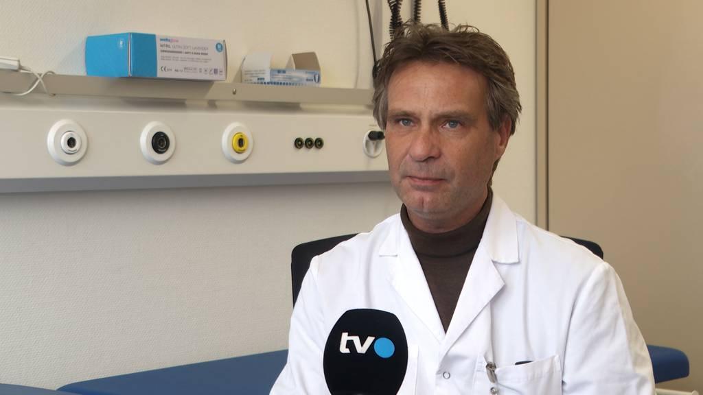 Dirk Büchter, Leitender Arzt Kinderspital St.Gallen: «Es geht darum, das Problem bei der Wurzel zu packen.»