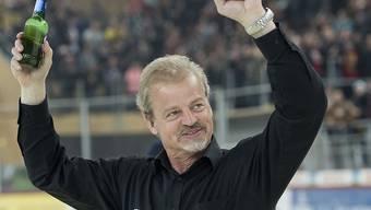 Bengt-Ake Gustafsson - hier beim Aufstieg 2015 mit den SCL Tigers - wird per sofort Trainer beim B-Ligisten Olten