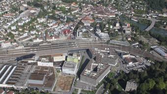 Koordinierter Planungsprozess: Das Gebiet rund um den Bahnhof soll attraktiver werden. (Archivbild)