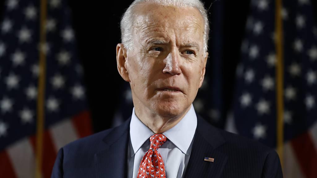 Unterstützt Israels Annexionspläne im Westjordanland nicht: US-Präsidentschaftsanwärter Joe Biden. (Archivbild)