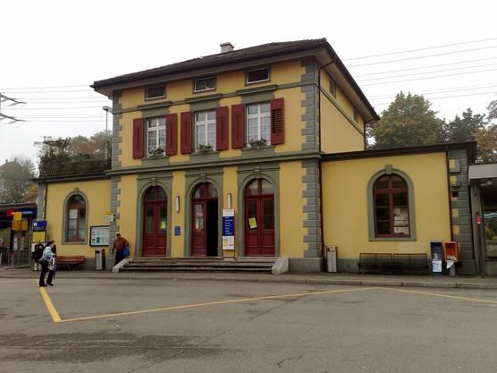 Bahnhof Rheinfelden: Hier können die Kunden noch immer am Schalter ihr Bahnbillet lösen.