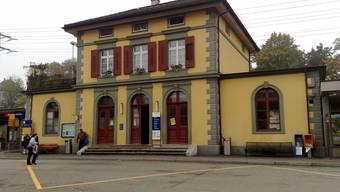 Bahnhofsangebot im Fricktal