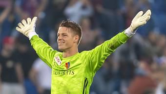 Ein starker Rückhalt: Basels Goalie Jonas Omlin.