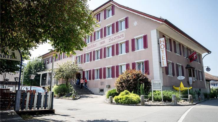 Der ehemalige Gasthof Sternen in Menziken wird als Asylunterkunft genutzt.