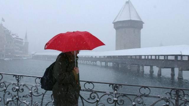 Der Winter in Luzern soll olympisch werden (Archiv/2005)