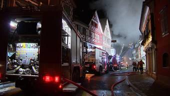 In Frauenfeld steht ein Paar vor Gericht, das mutmasslich für den Grossbrand im 2015 verantwortlich ist. Brandursache war ein Modellbau-Akku.