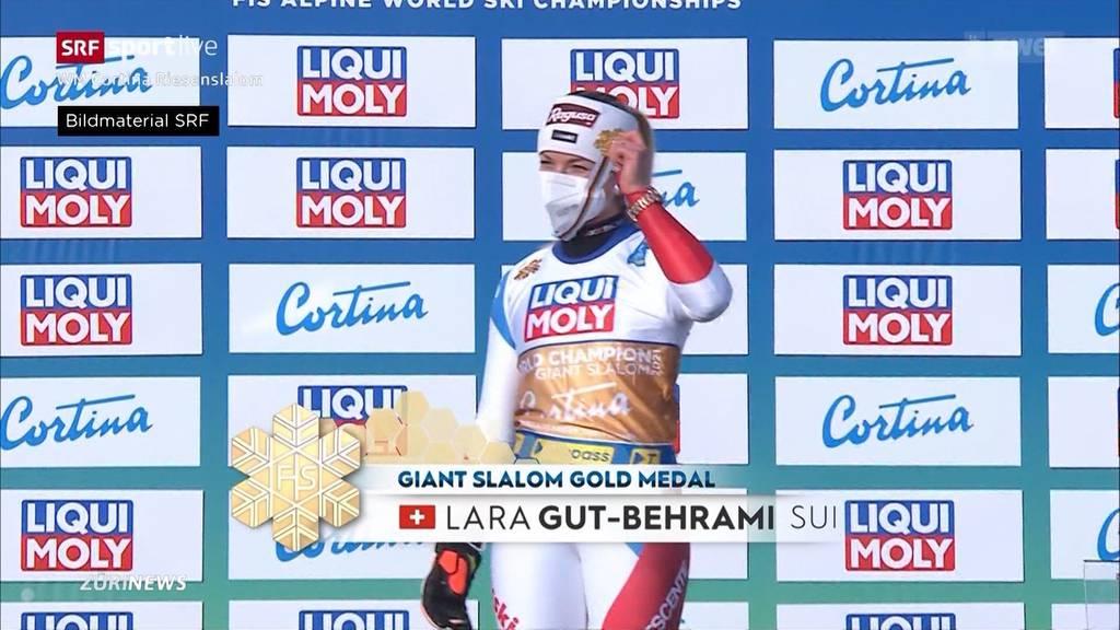 Lara Gut triumphiert im Riesenslalom mit Gold