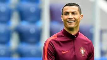 """""""CR7"""" tritt am 10. Oktober mit Portugal gegen die Schweiz an."""