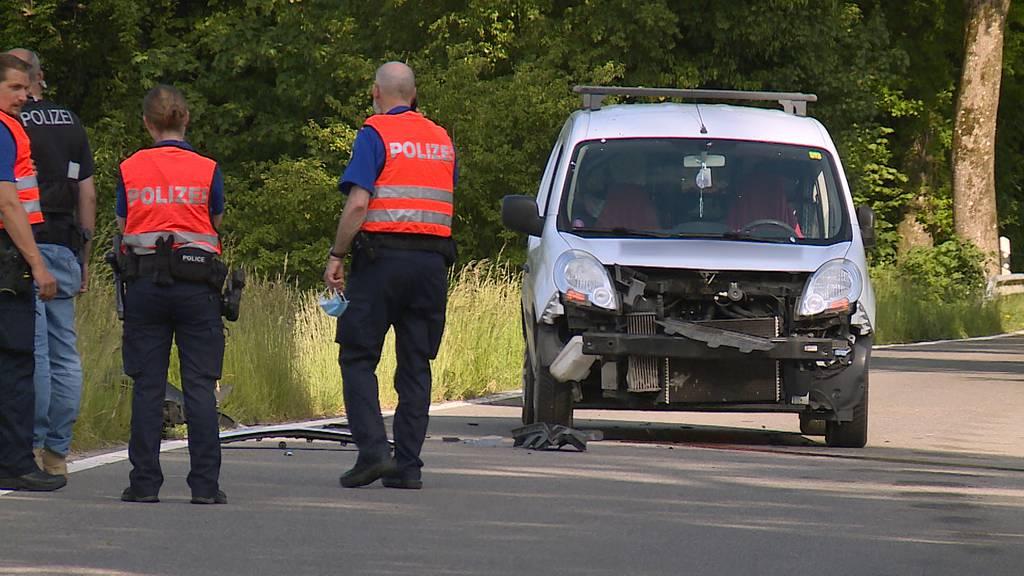 Thayngen: Motorradfahrer stirbt bei Frontalkollision