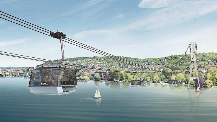 Das Baurekursgericht hatte den Gestaltungsplan im Dezember 2019 vor allem deswegen aufgehoben, weil im kantonalen Richtplan ein Eintrag für die Seilbahn fehlt. (Archiv)