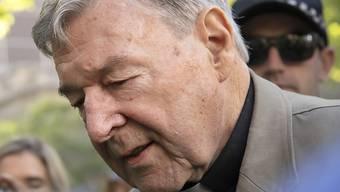 Wurde nach Bekanntwerden des Schuldspruchs wegen sexuellen Missbrauchs von Chorknaben am Mittwoch verhaftet: George Pell, australischer Kardinal und frühere Nummer drei im Vatikan.