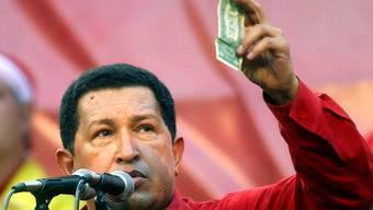 Hugo Chávez im Jahr 2005 (Archiv)