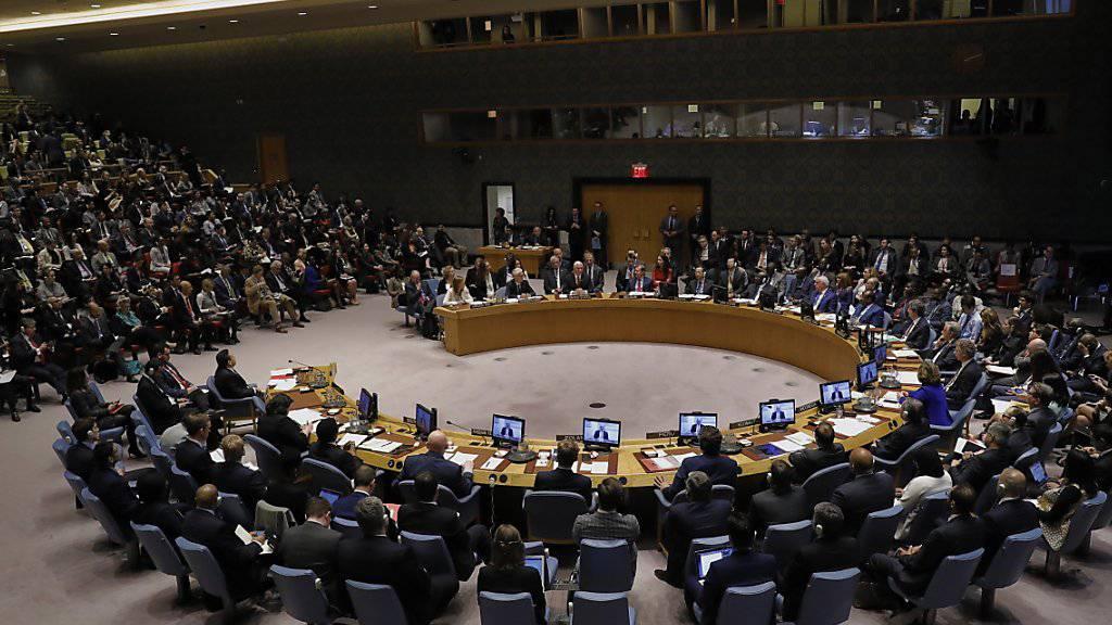 Der Uno-Sicherheitsrat in New York hat in der Nacht auf Freitag zum Libyen-Konflikt keine einheitliche Polition gefunden. (Archivbild)