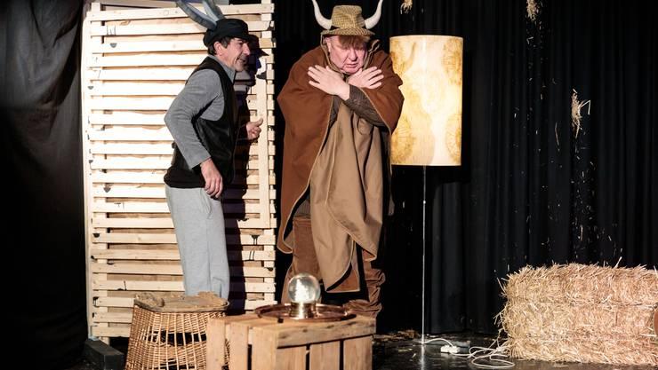 «Ox und Esel» von Norbert Ebel mit Jens Wachholz und Hanspeter Bader