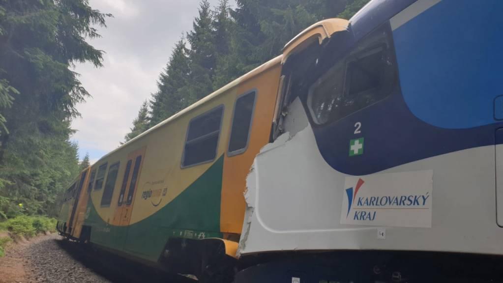 Binnen weniger Tage haben sich bereits zwei Zugunglücke in Tschechien ereignet. (Archivbild vom 7.7.2020)