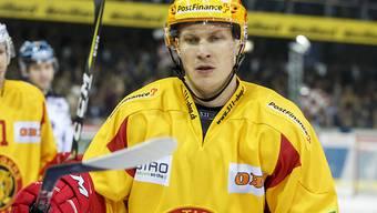 Antti Erkinjuntti darf für Langnau endlich mal wieder jubeln