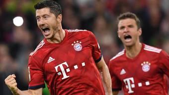 Wer jubelt heute Abend? Robert Lewandowski – hier im Jahr 2017 gegen die TSG – und die Bayern oder gibt es eine Überraschung?