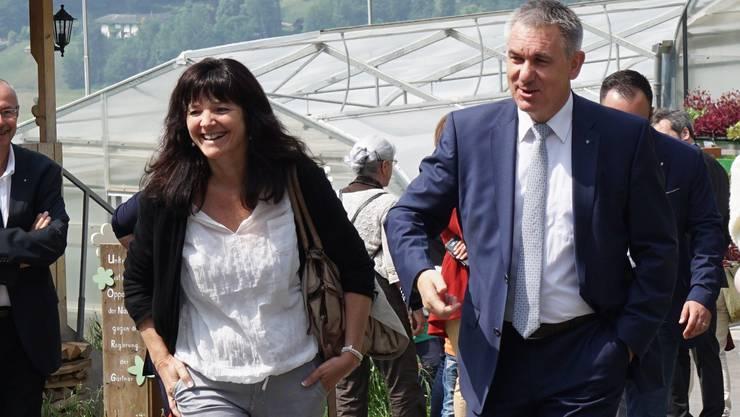 Ursula Hürzeler, Frau von Regierungsrat Alex Hürzeler, wird in Küttigen Fachverantwortliche für Altersfragen.