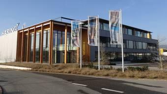 Das Holzbauunternehmen Häring AG hat Anfang 2013 in Eiken die Produktion aufgenommen. CHR