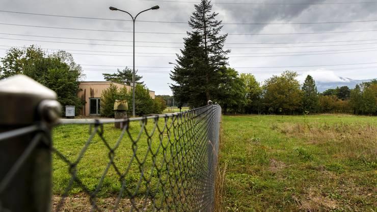 Hier soll das Asylzentrum im Schachen gebaut werden.