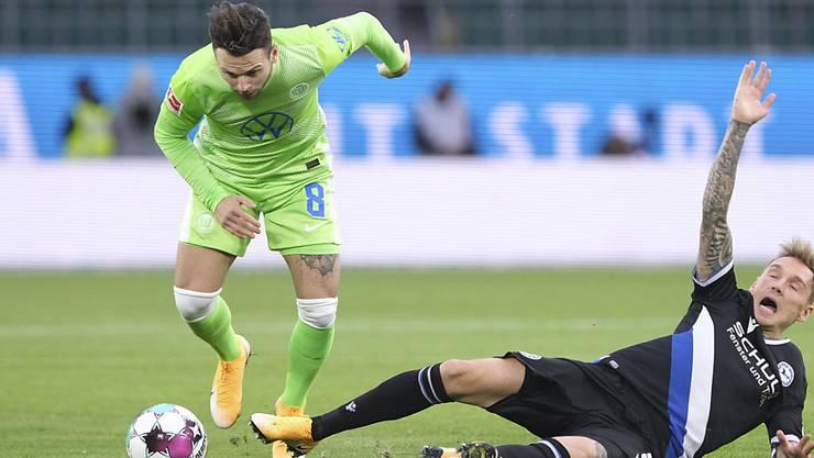 Renato Steffen war für Wolfsburg entscheidend (Archivbild)