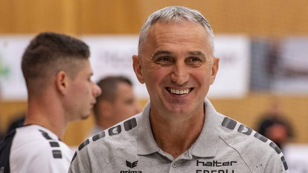 HC Kriens-Luzern verlängert den Vertrag mit Goran Perkovac